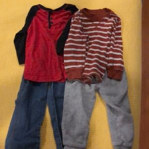 Carter's Shirts & Tops - Two boys carters outfits size 2t